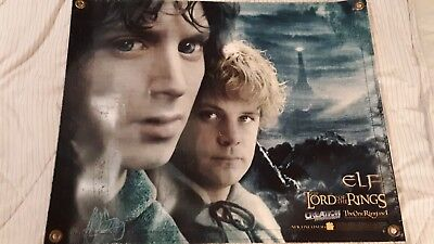 Lord of the Rings MOVIE BANNER w FRODO & SAM