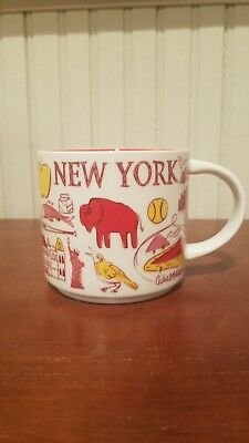 NEW WITH BOX Starbucks New York Been There Series Collection Mug Cup