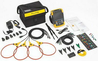 Fluke 435-Ii Series Ii Power Quality & Energy Analyzer Brand New