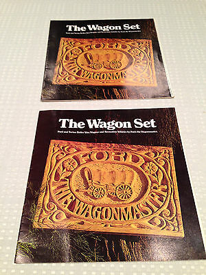 2 RARE 1971 FORD WAGONMASTERS Full Color 16-page Sales Brochures Specs Auto Car