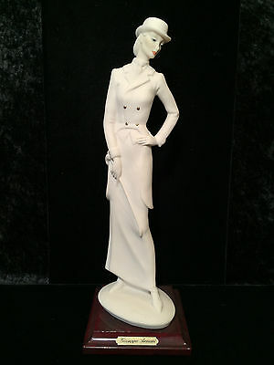 VTG New w/ Tags FLORENCE of ITALY Lady Rider Figurine 0420-F by GIUSEPPE ARMANI