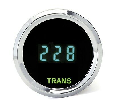 Dakota Digital Universal Round Transmission Temperature Gauge Teal ODYR-08-3 New