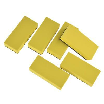 5mm 6PCS Lacquer Coating Sponges AUTO Maintenance Waxing plated crystal Sponge