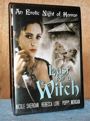Lust For A Witch (DVD, 2018) NEW Poppy Morgan Rebecca Love Nicole Sheridan