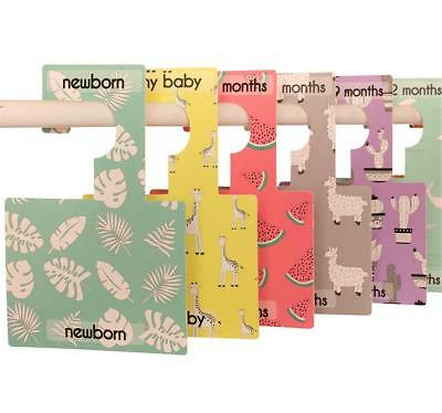 Belo and Me Baby Wardrobe Dividers | Pop Prints Design | Organise Clothes by...