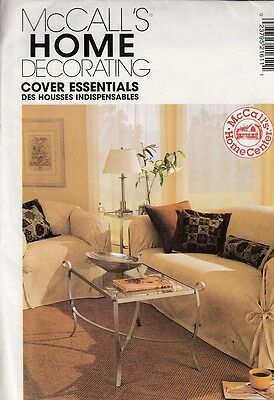 Mccall's Home Decorating Sewing Pattern #2161 Cover Essentials