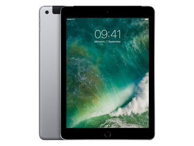 Apple iPad 5 (2017) WiFi+Cellular iOS Tablet ohne Simlock 32GB Spacegrau Kamera