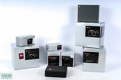 Lot of Leica Boxes for Cameras/Lenses