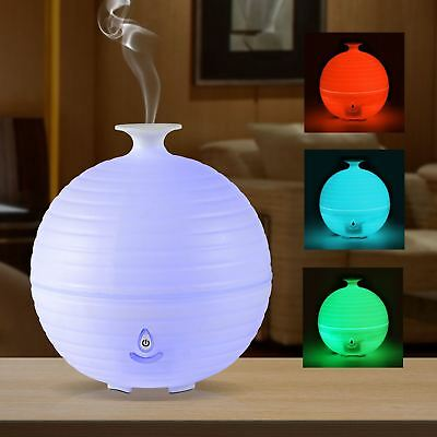 2 In 1 Colour Changing Led Aroma Fragrance Diffuser Ultrasonic Humidifier
