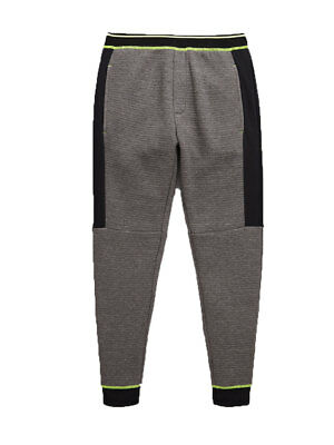 V by Very Skinny Tech Zip Cuff Sport Jogger in Grey / Black Size 7-8 Years