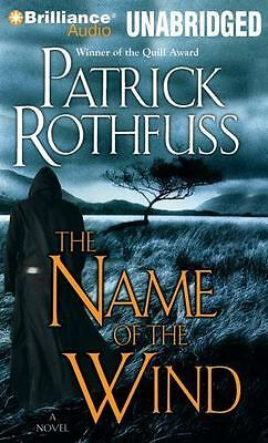 KingKiller Chronicles: The Name of the Wind 1 by Patrick Rothfuss (2014, MP3...