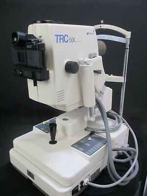 Topcon TRC 50X Retinal Fundus Camera for Ophthalmology Optometry Medical Exams