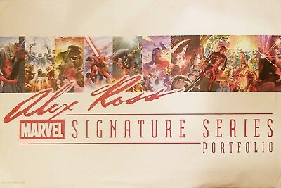 2014 SDCC ALEX ROSS ART PRINT PORTFOLIO - SET OF 10 by ALEX ROSS SIGNED # /200