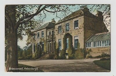 Ardenconnell, Helensburgh:~1910 Vintage, Tinted, Glossed PPC, G.Used 1915.