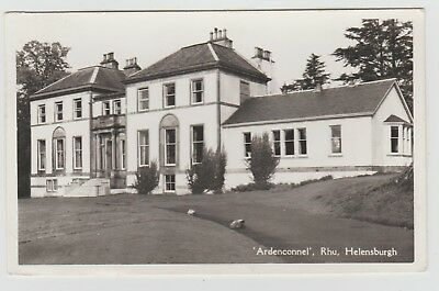 Ardenconnel House, Rhu, Helensburgh:~1950's (Est) Real Photo PPC, GVG Used 1962