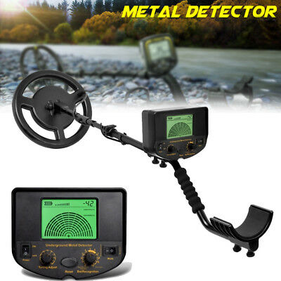 AR924M Metal Detector Gold Digger Light Hunter Deep Sensitive Search LCD 150MM