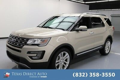 2017 Ford Explorer Limited Texas Direct Auto 2017 Limited Used 3.5L V6 24V Automatic FWD SUV Premium