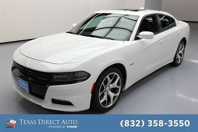 2015 Dodge Charger RT Texas Direct Auto 2015 RT Used 5.7L V8 16V Automatic RWD Sedan Moonroof