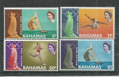 Arcade 99p Start Bahamas 1968 Mexico Olympics Mint Set