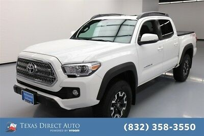 2016 Toyota Tacoma TRD Off-Road 4dr Double Cab Texas Direct Auto 2016 TRD Off-Road 4dr Double Cab Used 3.5L V6 24V Automatic
