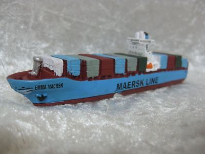 Containerschiff Emma Maersk Line Boot Schiff Miniatur Container