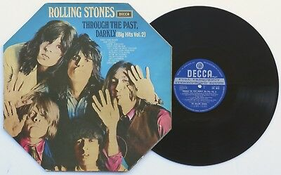 ROLLING STONES Through The Past Darkly UK STEREO 1ST Unboxed Decca NEAR MINT