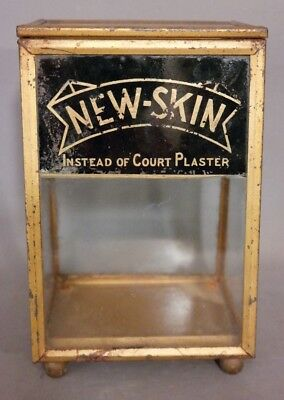 Antique NU-SKIN Miniature ADVERTISING Old COUNTRY STORE Becker DISPLAY CASE