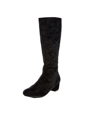 V by Very Josie Infant Knee Boots In Black Size UK 12