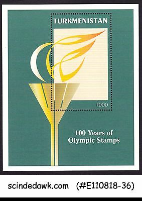 Turkmenistan - 1997 100 Years Of Olympic Stamps Min/sht Mnh