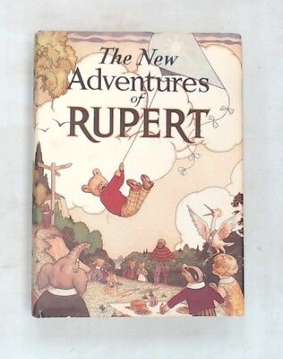 Vintage THE NEW ADVENTURES OF RUPERT Numbered Edition 5333 Hardback Book - W31