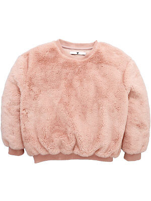 V by Very Pearl Puff Jumper In Pink Size 15 Years