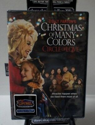 Dolly Parton's Christmas Of Many Colors: Circle Of Love  New Dvd Free Shipping!!
