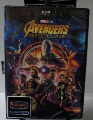 Avengers: Infinity War  New Dvd Free Shipping!!