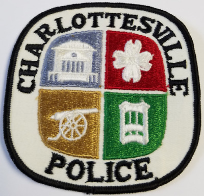 Charlottesville Police Virginia Cloth Patch