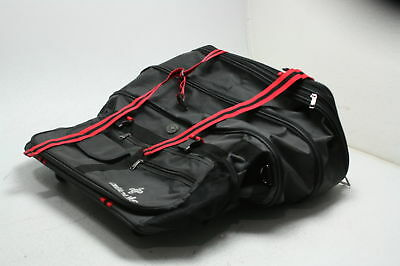 8330f11e562 ailouis 36 Inch Expandable Extra Large Wheeled Travel Duffel Luggage Bag  Black