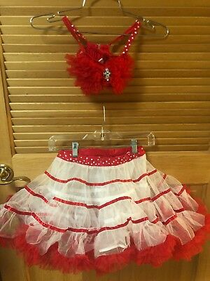 Girls Professional Costume Dance Ball Room Compitition Ballet Salsa Ice Skating