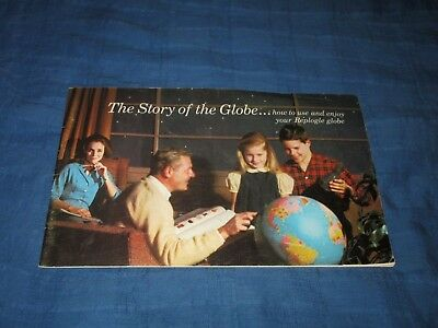Replogle Globes-The Story Of The Globe-Original 1966 Booklet