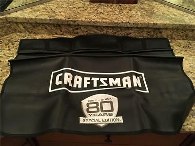 Rare! Craftsman 80 Years 1927-2007 Special Edition Fender Cover Protector