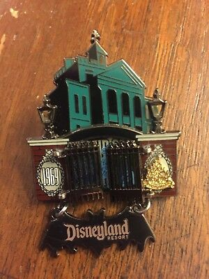 Disney Magical Milestones - 1969 Haunted Mansion Opens Hitchhiking Ghosts Pin