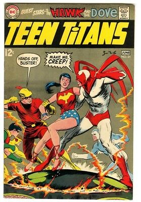Teen Titans #21 (1969) VF- New DC Silver Age Collection