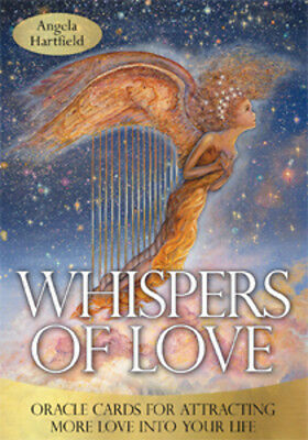 WHISPERS OF LOVE Tarot Kit Card Deck Oracle Cards Book Boxed Set Josephine Wall