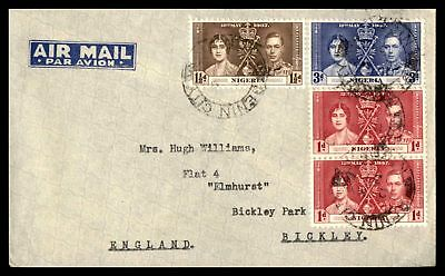 Oshogbo Nigeria May 13 1937 Air Mail Cover To Bickley Park England