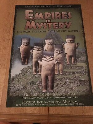 Empires of Mystery (Exhibit Florida Int'l Museum St Petersburg) Poster OS-921D