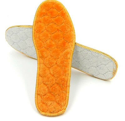 Warm Winter Thickening Insoles Artificial Lamb Hair Wool Velvet Cushion Pad Shoe