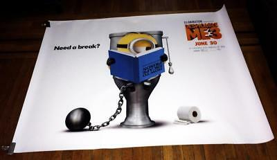 Despicable Me 3 5Ft Subway Movie Poster Minions Toilet 2017