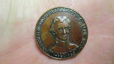 Rare 1785-1853 Dr. Wm. Beaumont 1922 American Medical Association Pin St Louis