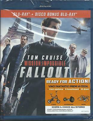 Mission Impossible. Fallout (2018) 2 Blu Ray