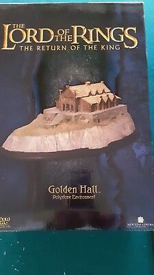 Lord of the Rings  THE GOLDEN HALL  Sideshow / Weta Diorama Statue  NEW