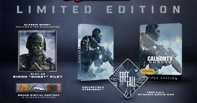 Call of Duty: Ghosts Steel Case Limited Edition PlayStation 3 PS3 New SEALED
