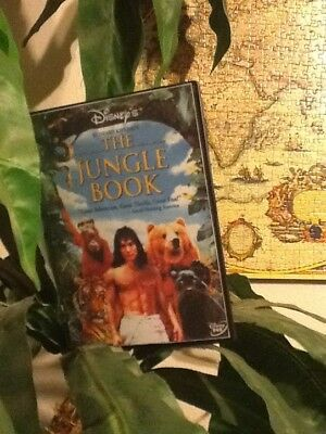 disney live action 1994 The Jungle Book DVD